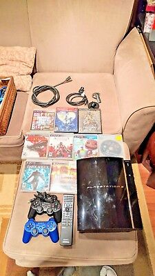 Sony Playstation 3 CECHE01 80gb Backwards Compatible