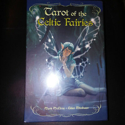 "Htf Sealed Tarot Of The Celtic Fairies Deck & Book ""boxed Set"" Rare!"