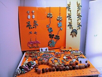 Vintage wholesale lot of Hand Crafted Jewelry lots European Art Nouveau Style  5