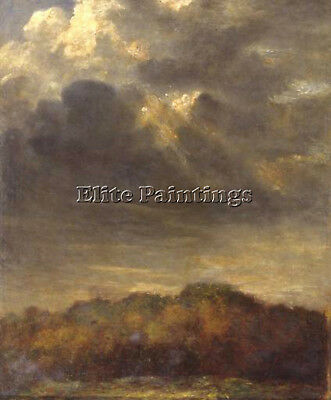 Watts George Frederick Study Clouds C1890 1900 Artist Painting Oil Canvas Repro