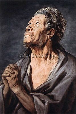 An Apostle  Artist Painting Reproduction Handmade Oil Canvas Repro Wall Art Deco