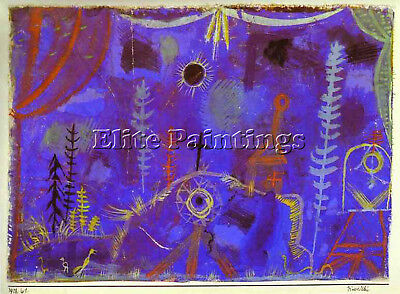 Paul Klee 2 Artist Painting Reproduction Handmade Oil Canvas Repro Wall Art Deco