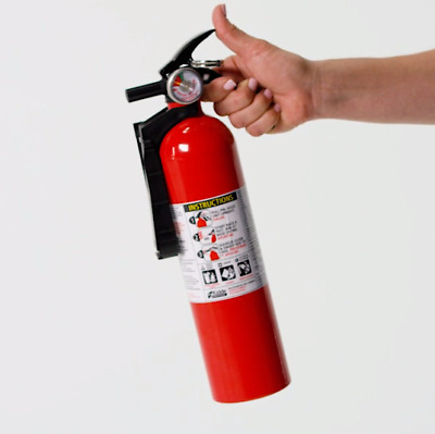 Kidde 5 B:C Dry Chemical Safety Fire Extinguisher Emergency Home Car Auto Garage