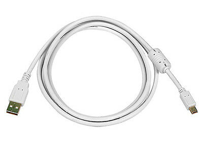 15ft Usb 2 0 A Male To Usb Mini B 5pin Male 2824awg Cable White Pc