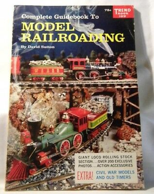 Complete Guidebook to Model Railroading Sutton Trend Book 199 200 photos