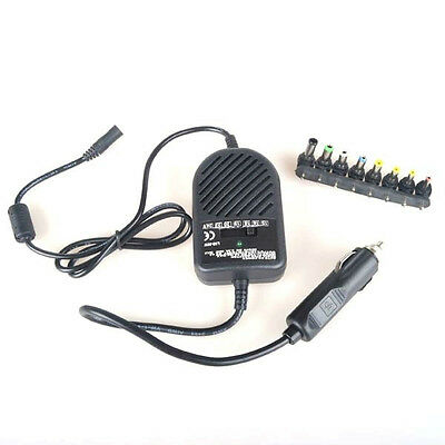 Universal Auto DC Car Charger Adapter 80W Power Supply for Laptop Notebook