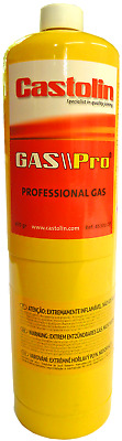 Mapp Map Pro Plus Gas Disposable Bottle Plumbers Burner Cylinder 450G Yellow
