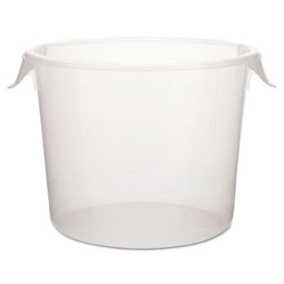 Rubbermaid 6 qt. Round Storage Container (Clear) 572324CLE New