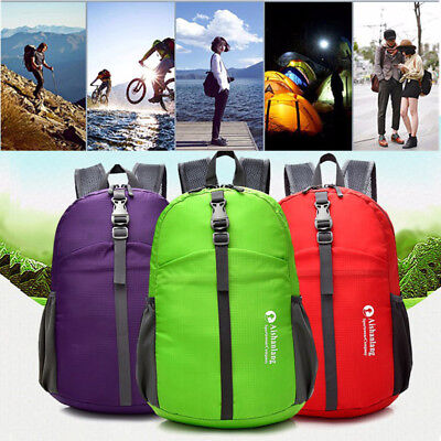 25L Light Weight Outdoor Foldable Waterproof Backpack for Outdoor Hiking Cycling