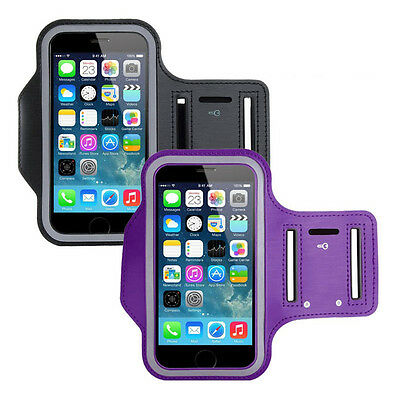 for iPhone 7 6S 6 Plus Sport Arm Band Phone Holder Jogging Gym Running Cycling