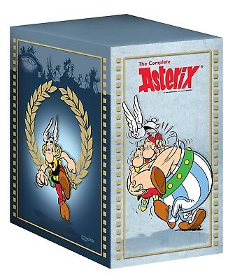 The Complete Asterix Box Set (37 Titles) By Rene Goscinny