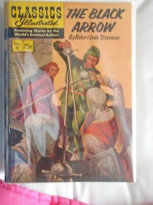 CLASSICS ILLUSTRATED the black arrow