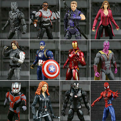 2018 New Captain America Civil War Marvel Legends Man Action Figure Soldier