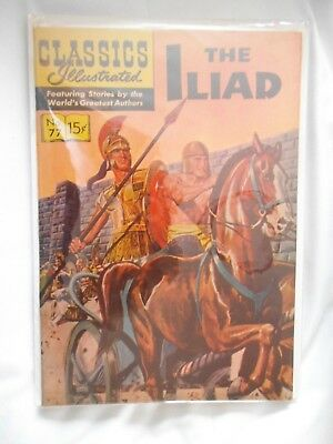 classic illustrated. The Iliad # 77