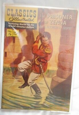 classic illustrated. PRISONER OF ZENDA.very fine