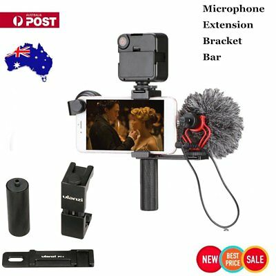 Microphone Cold Shoe Extension Plate Ulanzi PT-2 For Hand Video Rig Vlogging NQ