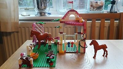 Lego Belville 7585 Horse Stables Lot 800 Picclick Uk