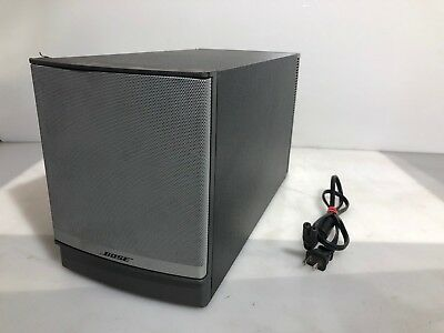 Bose Companion 5 Multimedia Speaker System Only Sub-woofer AS IS For Parts *Read