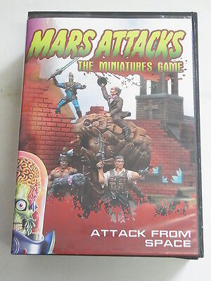 Mars Attacks  Attack from Space Mantic Games Board Game Englisch KR 1