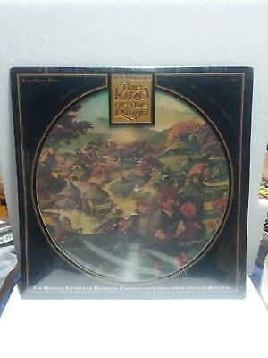 The Lord Of The Rings Rare Fantasy Original 1978 Picture Disc Edition Sealed Lp