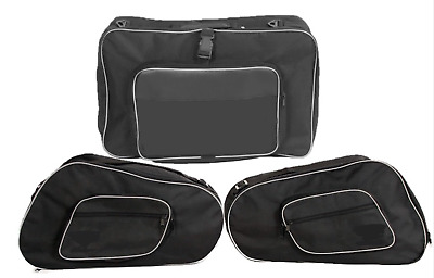 Pannier Liner Side Bags & Top Bag For Honda St 1300 Pan European (Pack Of 3 Bags