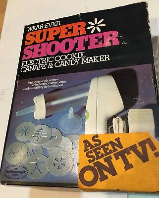 NEW VTG Super Shooter 70001 Shrink Wrapped w Book Wearever Sealed In Orig Box