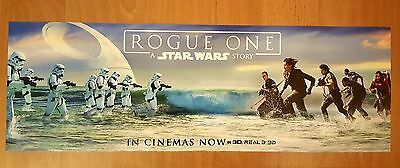 OFFICIAL STAR WARS ROGUE ONE CINEMA LOBBY MINI POSTER (49cmx16.5cm)