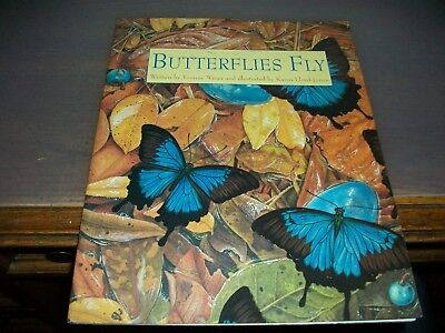 Butterflies Fly by Yvonne Winer (2001, Hardcover)