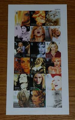 MADONNA GHV2 Official Promo Stamp Set BRAND NEW & MINT! (Stamps)