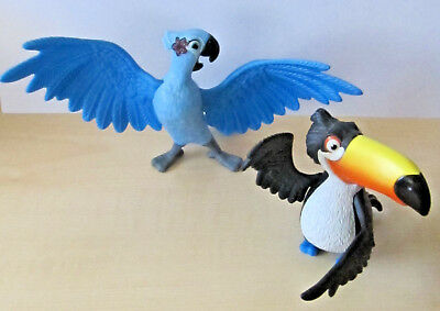 2x Rio SPIELZEUG FIGUREN Jewel & Rafael MCDONALDS HAPPY MEAL 2011, LED & SOUND
