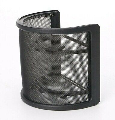 Recording Studio Double Layer Microphone Wind Screen Pop Filter Shield (NEW)