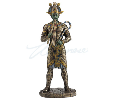 Osiris Egyptian God of Afterlife Sculpture Statue Figurine - HOME DECOR