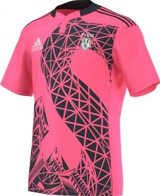 "Stunning Adidas ""Stade Francais"" Away Rugby Jersey - Various sizes available!"