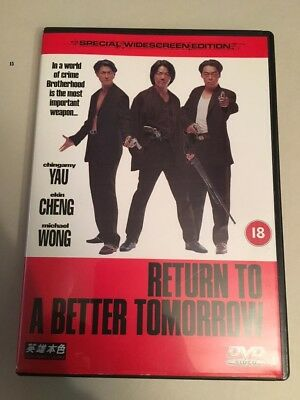 Return to a Better Tomorrow DVD, 2001, Region 2 english / chinese
