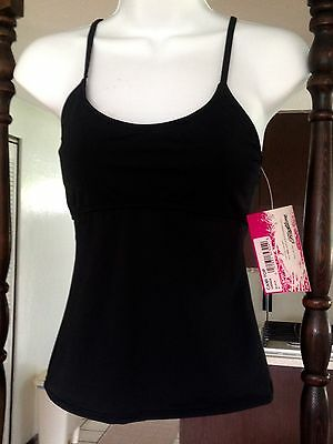 Frontline Black Dance Cami Adult Small New With Tags