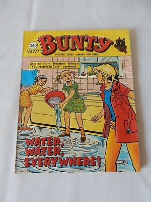 Vintage Bunty Picture Story Library No. 277 Undertones on back VG