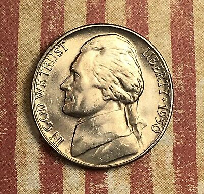 1950-D Jefferson Nickel.collector Coin For Your Set Or Collection.