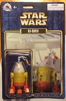 Star Wars 2018 R4-BOO18 DROID Halloween Droid Factory Disney Theme Parks 3.75""