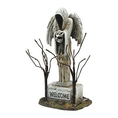 Dept 56 Halloween Snow Village Angel of Death 4054256 Accessory Graveyard NEW
