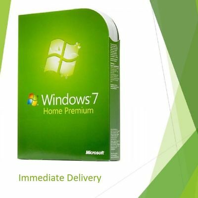 Microsoft Windows 7 Home Premium 32/64 bit Product Activation Code Full Version