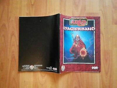 Magier Band Ad&d Tsr  Advanced Dungeons & Dragons Ad&d Sehr Gut