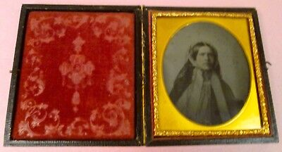 Ambrotype Photo in Full Case