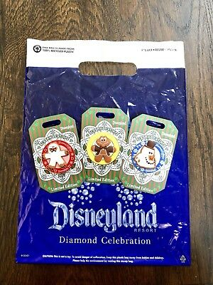 Disneyland SEASON'S EATINGS 2017 3 Pin LE Set Mr. Toad , Yeti, Cars