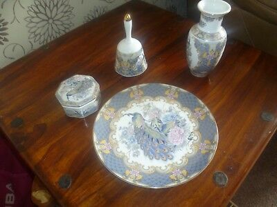 Set Of 4 Oriental Pottery Items