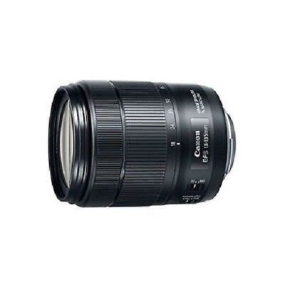 USED Canon EF-S 18-135mm f/3.5-5.6 IS USM Black Excellent FREE SHIPPING