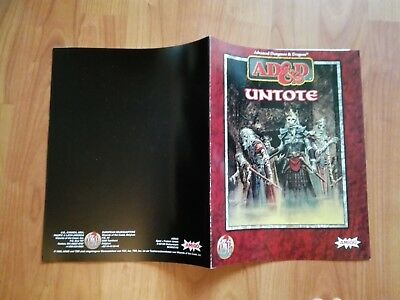 Untote Band Ad&d Tsr  Advanced Dungeons & Dragons Ad&d Sehr Gut