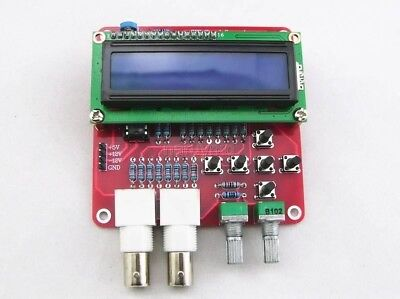 finished DDS Function Signal Generator Module Sine / Triangle / Square Wave LCD