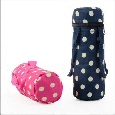 Portable Insulated Thermal Cooler Baby Milk Bottle Carry Storage Picnic Bag S
