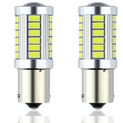 2018 New LED Car Lamp 1156 BA15s P21W Led Turn Brake Light 33SMD 5730 Auto Bulb