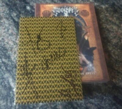 Autographed MOONSPELL LISBOA UNDER THE SPELL 3CD DVD BLUE RAY)  Signed